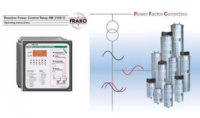 Frako Capacitors & Relay